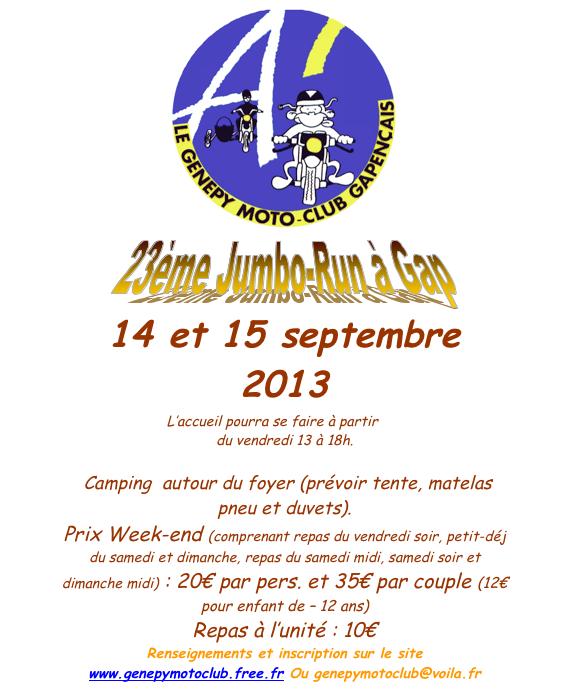 Affiche jumbo-run